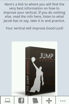 Vertical Jump Bible for nexus